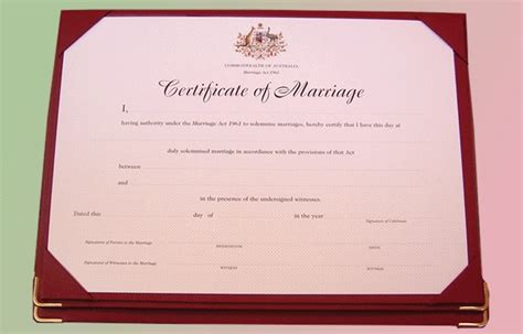 Marriage Records Nsw Form 15 Marriage Certificates