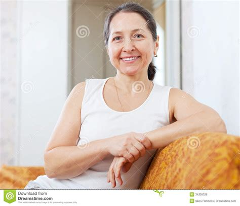 Home Design 3d Outdoor Free Download smiling ordinary mature woman royalty free stock image