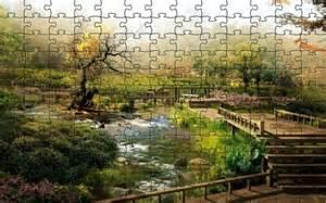 Landscape Jigsaw Puzzles Japan Digital Landscape Puzzle