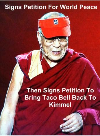 Syracuse Meme - introducing the cuse dalai lama meme troy nunes is an