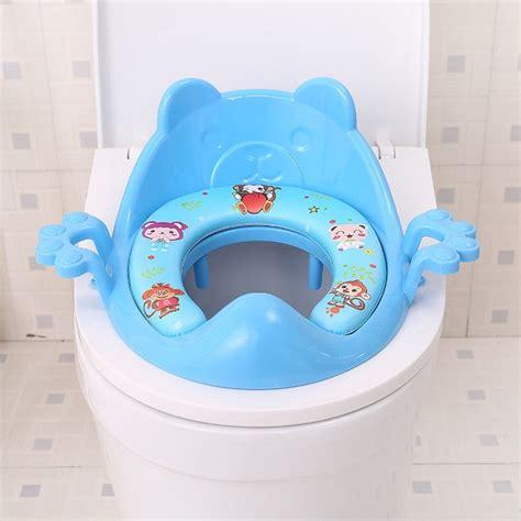 bebe petit pot siege de toilette couverture souple enfants