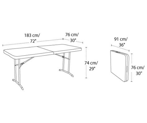 Ivaro Indachi Folding Table Ft 02 lifetime tables 4571 almond 6 ft fold in half table top 10 pack