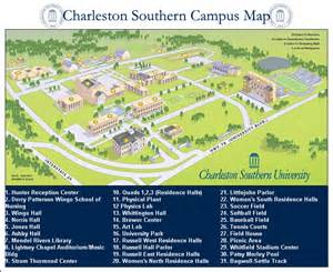map of florida southern college college charleston southern college