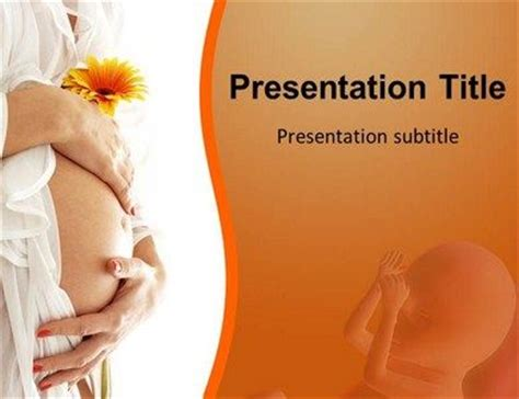 pregnancy powerpoint templates 25 best images about health powerpoint template on