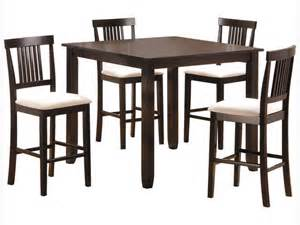 5 piece counter height dining table good condition