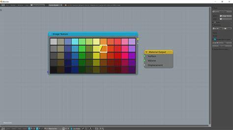 node colors color custom colour palette node blender stack exchange