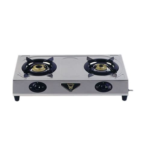 Two Burner Gas Cooktop Butterfly 2 Burner Ace Cooktop Price In India Buy