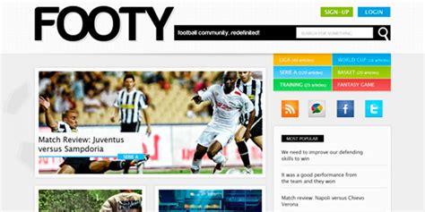 15 Best Responsive Sports Website Templates Designmaz Best Sports Website Templates