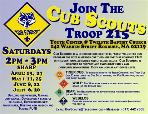 Cub Scout Business Card Template by 25 Best Pack Meeting Ideas On Cub Scout