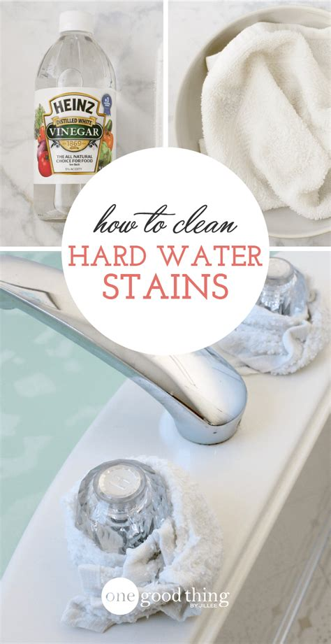 how to clean stubborn bathtub stains how to remove those stubborn hard water stains one good