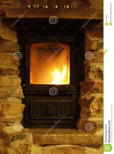 crackling cozy atmosphere royalty free stock