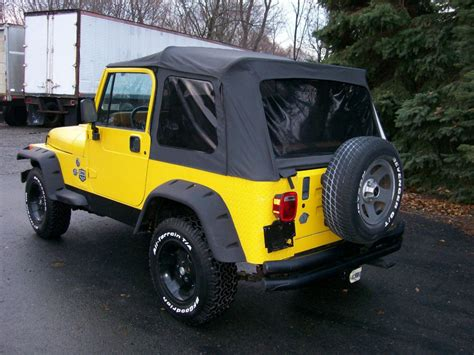 Jeep Wrangler Soft Top 1995 Jeep Wrangler Soft Top For Sale