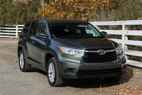 Toyota Highlander 8 Seater 2014 2015 Toyota Highlander Drive Review And Road