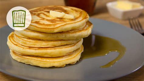pfann kuchen amerikanische pancakes pfannkuchen rezept chefkoch