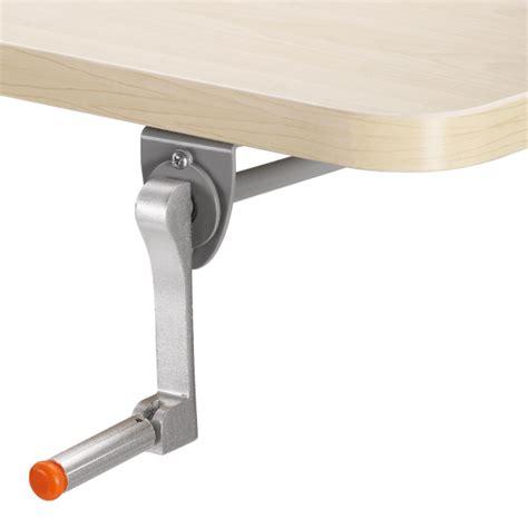 hand crank adjustable desk adjustable standing desk with hand crank mechanism anyone