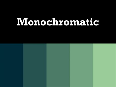 monochromatic color scheme monochromatic palette home design