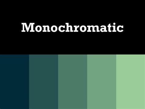 monochromatic color monochromatic palette home design