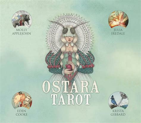 ostara tarot by morgan applejohn eden cooke krista gibbard julia iredale other format