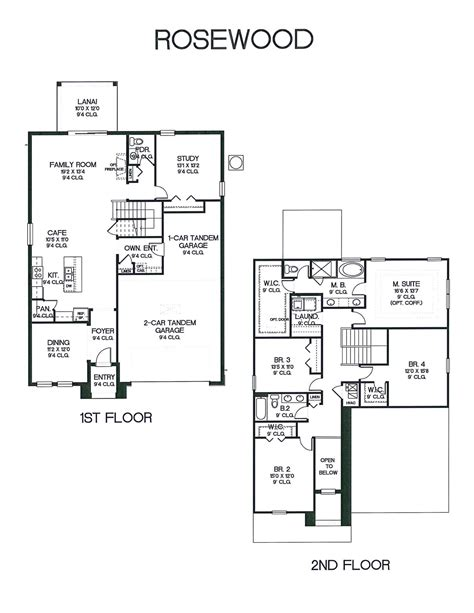 rosewood floor plan rosewood dream finders homes