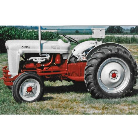 ford jubilee tracking a family tractor 1953 ford naa golden