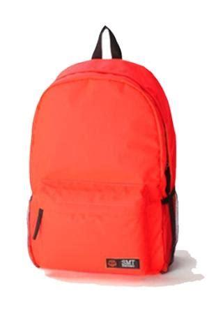 Mens Shoulder Bag Orange Intl retro backpack canvas bag laptop bag handmade tote bag