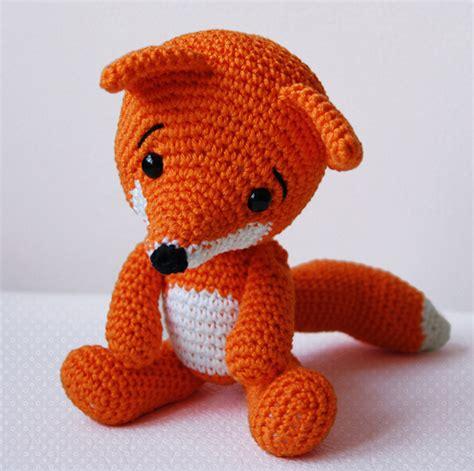 amigurumi fox amigurumi pattern the fox on luulla