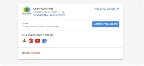 Lookup Email Address Owner Gmail Owners For Business Pages Accounts Ownership