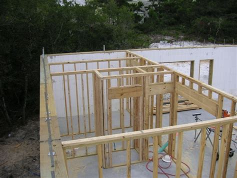 small house construction سیستم بتن مسلح با قالب عایق ماندگار icf insulating