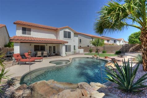 2 story house with pool 2 story home with pool and spa in marshall ranch community glendale az homes for sale real