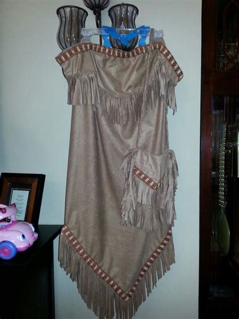 pocahontas costume with matching purse and felt turquoise