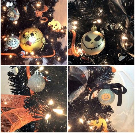 diy nightmare before christmas halloween tree