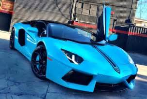 Lamborghini Re Chris Brown Has Lamborghini Aventador Re Wrapped To Bright