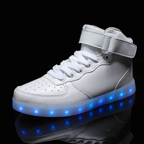 coodo light up shoes new style led light up shoes flashing sneakers se6562