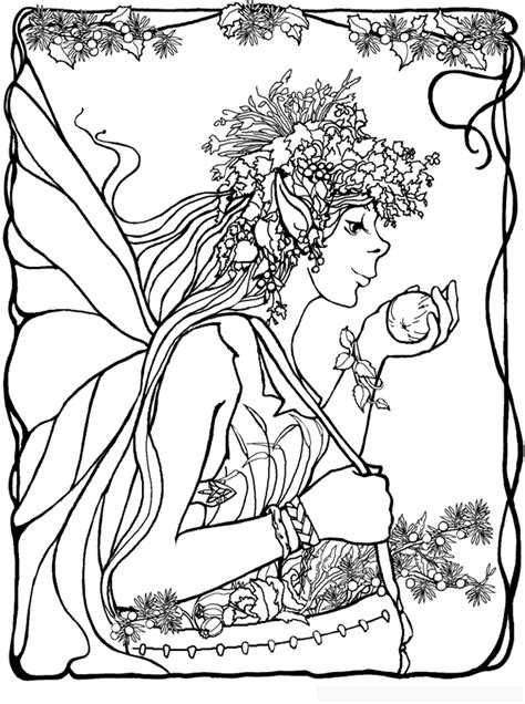 coloring pages detailed fairies coloring pages fairies coloring home