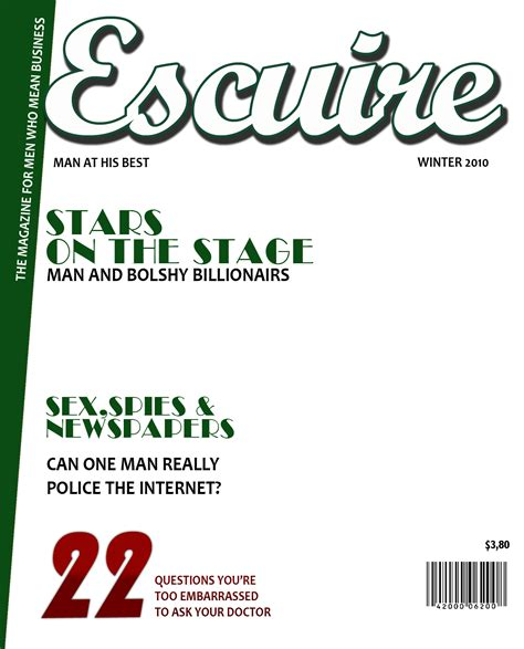 make your own magazine cover template inmagazines magazine cover generator