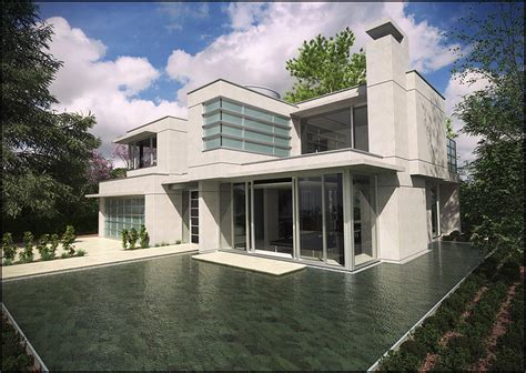 Concrete Home Designs by David Hier Render Studio