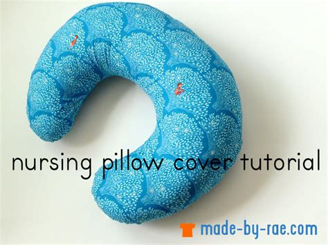 free pattern nursing pillow sewing for baby nursing pillow cover tutorial made by rae