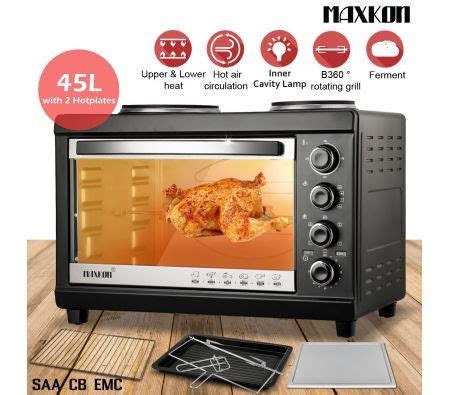 Best Deal Toaster Oven 45l Electric Benchtop Convection Oven Toaster Cooker With