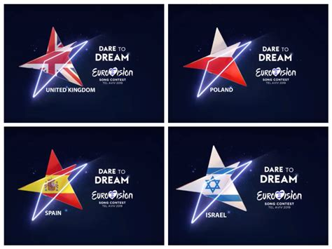 eurofans render the eurovision 2019 logo and artwork with