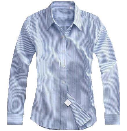 Baju Salur Wanita Blouse Biru Garis Terlaris kemeja kantor wanita ws 002 pusat grosir baju kerja dan