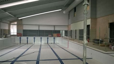 holly hill leisure centre construction