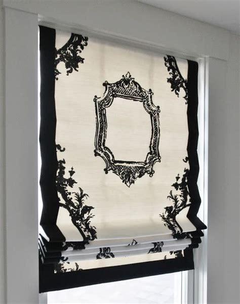 pattern fabric window shades roman shade using a large scale pattern fabric great