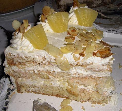 Sahne Ananas Kuchen Beliebte Rezepte F 252 R Kuchen Und