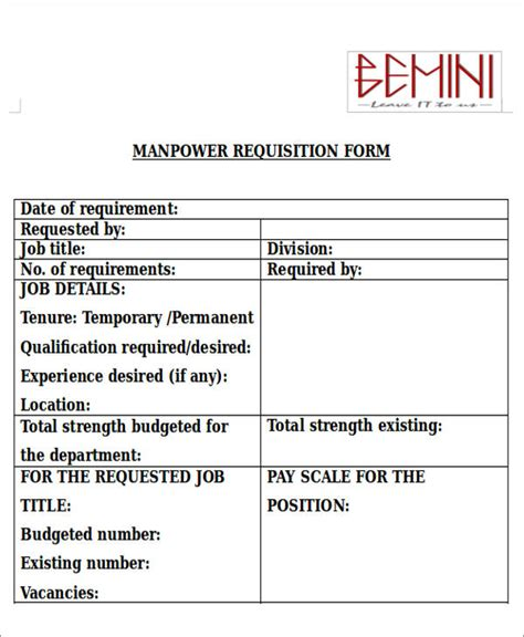 requisition form in doc requisition form in doc pricing quantities and other