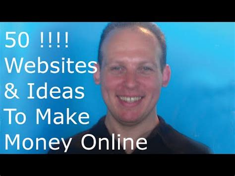 Website Ideas To Make Money Online - how to make money online 50 business ideas and websites to make money online from