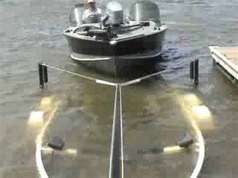 boat trailer drive on guides boat loader youtube