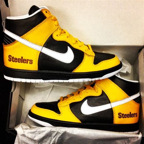 running shoes pittsburgh nike id nfl designs sole collector