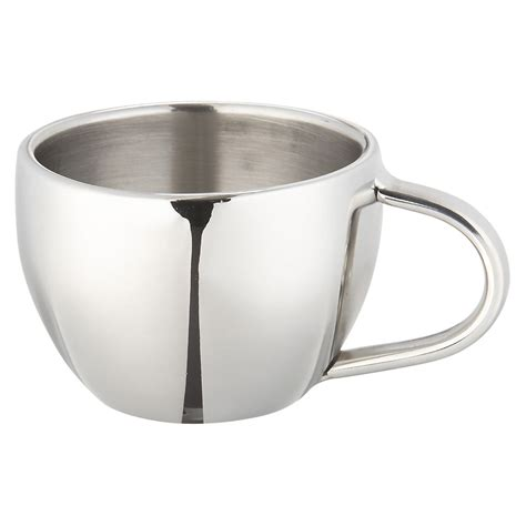 Stainless Steel Espresso Cup   So That's Cool