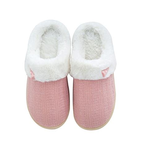 7 words slippers nine cif s fuzzy winter slippers outdoor house