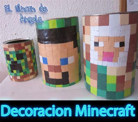 goma eva decoracion infantil decoracion minecraft para ni 241 os con goma eva manualidades